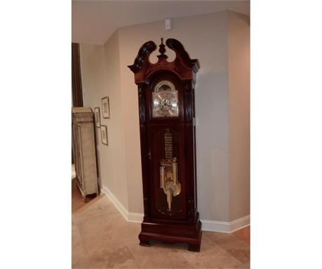 howard miller 8' grandfather clock